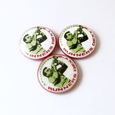 1 inch Dexy's Midnight Runners pin back button. High quality laser printed images protected by a clear mylar.