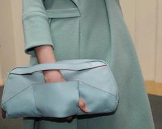 cacharel-fall-2012. If I were to carry a purse, this is how I want to carry it.