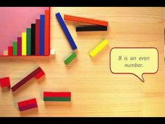 ▶ Odd and even numbers with Cuisenaire rods - YouTube
