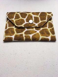 Leopard Print mini wallet, handmade  | eBay