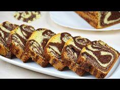 ▶ Chec pufos cu cacao - Chec marmorat - JamilaCuisine - YouTube