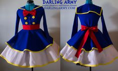Donald Duck Girl Cosplay Dress Set for DisneyWorld by DarlingArmy.deviantart.com on @DeviantArt