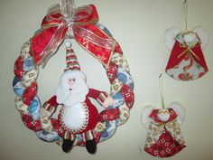 Guirlanda trançada Natal