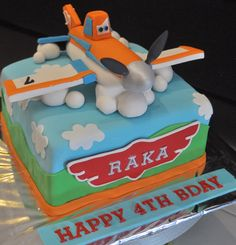 Dusty the Plane Cakes | Dusty Cake - Mami Raka