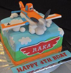 Dusty the Plane Cakes | Dusty Cake - Mami Raka