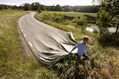 Go your own road, an art print by Erik Johansson – funny photoshop Picture Writing Prompts, Writing Pictures, Creative Writing Prompts, Sentence Writing, Writing Ideas, Photomontage, Erik Johansson Photography, Creative Photos, Cool Photos