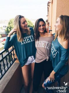 Piko tops = perfection | Kappa Alpha Theta | Made by University Tees | www.universitytees.com