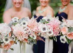 Minnesota Sabrina & Matt: A Summer Wedding In Blush, Mint and Navy