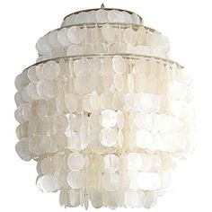 View This Item And Discover Similar Chandeliers Pendants For At Is Part Of The Hydromedusa Line Capiz S Lights That We Carry By Gwen