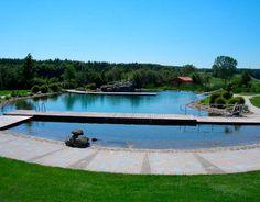 natural swimming pool breathtaking view