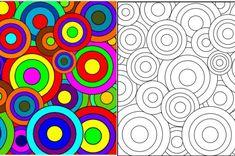 Art Kandinsky, Arte Elemental, Art Fantaisiste, Classroom Art Projects, Easy Canvas Art, Circle Art, Art Lessons Elementary, Arte Pop, Whimsical Art