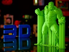 Something we liked from Instagram! The incredible hulk 3d printed in our Superstore.#3d #3dprinter #3dprinting #creatbot #corexy #3dprint #pla #3dprinterfilament #3dprinted by 3dprintersuperstore check us out: http://bit.ly/1KyLetq