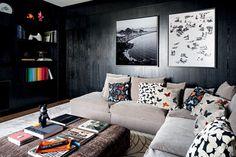 Toques irreverentes definem apartamento: todos os móveis vieram direto de Londres