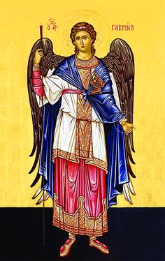 Archangel Gabriel - 20th c. St. Anthony's Monastery - (1GA14)