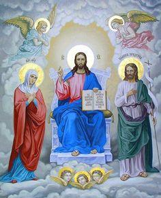 (157) Твиттер Jesus Christ Images, Jesus Art, Catholic Prayers, Catholic Art, Religious Icons, Religious Art, Religion, Jesus Painting, Christ The King