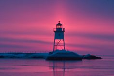 Grand Marais #Lighthouse    http://dennisharper.lnf.com/