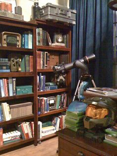 telescope in the apartment on big bang theory - Google Search