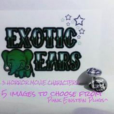ExoticEars punk einstein plugs #plugs #gauges #stretchedears #gaugedears #prettyplugs #rocker #emo #goth #cuteplugs #plugsforgirls #plugsforguys #iloveplugs #ears #bodymod #piercing #stretchedlobes #exoticears #galaxy #galaxyjewelry #galaxyearrings #galaxyplugs #galaxygauges #einstein #punkeinstein #einsteinplugs