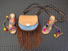 stile hippie in vacanza e tanta giovinezza - don't call me fashion blogger with Gioseppo pompom sandals