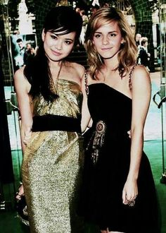 Cho Chang and Hermione