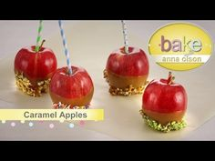 Caramel Apples, Tarte Tatin and Creme | Bake with Anna Olson - YouTube