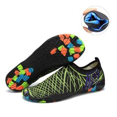 Water Shoes Mens Womens Beach Swim Shoes Quick-Dry Aqua Socks Pool Shoes For Surf Yoga Water Aerobics Pool Shoes, Water Shoes, Aqua Socks, Water Aerobics, Us Man, Quick Dry, Cleats, Surfing, Swimming