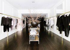 Clothing racks, clothing store interior, boutique interior, shop interior d