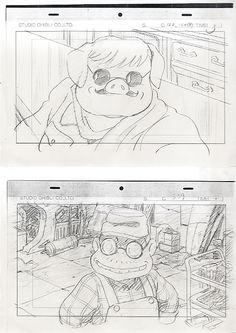 Animation Storyboard, Storyboard Artist, Studio Ghibli Art, Studio Ghibli Movies, Totoro Drawing, Frame By Frame Animation, A Silent Voice, Manga Artist, Character Design Animation
