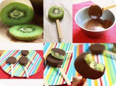 This looks good and I just got a bunch of kiwi's at the produce stand too.. Maybe for a cheat day dessert :)