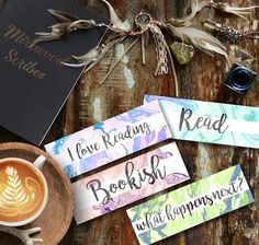 This listing is for a set of 4 printable marble watercolor bookmarks. Will look beautiful tucked into a book or laying on your bookshelf. Buy once and print as many as you like. Simply print and cut them out. You could use a hole punch to make a hole to attach a ribbon or tassel or