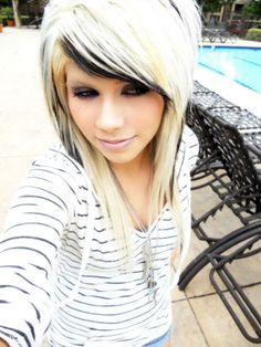 I want my hair like this but different colors