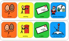 Colourful Semantics Letter to Santa