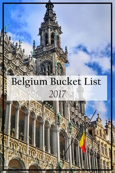 What to do in Belgium