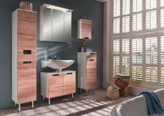 Unterschrank Weiß Eichenfarbe online bestellen Divider, Vanity, Bathroom, Furniture, Mars, Home Decor, Products, White Oak Tree, Rustic Decor