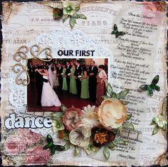 our first dance - Scrapbook.com