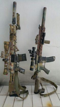 """weaponslover: """" HK417, HK416 """""""