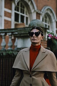 Giovanna Battaglia, London Fashion Week