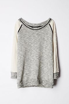 boucle pullover / anthropologie