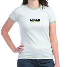 Miami - Nautical Flags. T on CafePress.com
