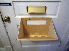 Mail Slot Catcher pouch basket box thingeemabob