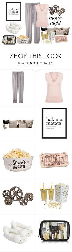 """Fab Movie Night"" by freida-adams ❤ liked on Polyvore featuring interior, interiors, interior design, home, home decor, interior decorating, Uniqlo, La Perla, B&B Italia and Benzara"