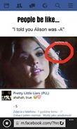Pretty Little Liars -A. Alison