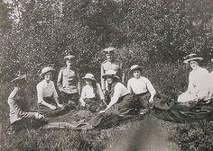 Olga, Anastasia, Maria and Tatiana