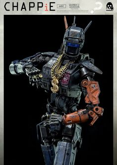 Threezero prepares two CHAPPiE #robot figures