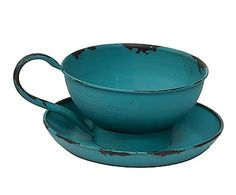 Palmatoria de hierro - azul