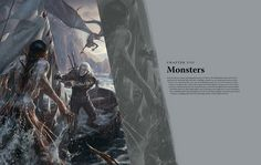 The Witcher 3: Wild Hunt artbook  Chapter VIII  Monsters