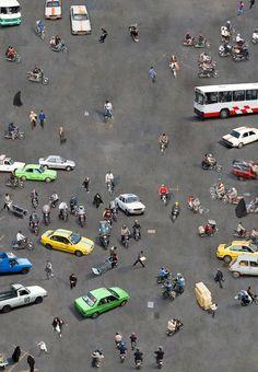 Aerial photography by Katrin Korfmann - Tehran