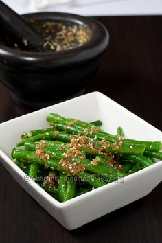 Green Beans with Sesame Dressing01