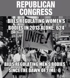 We don't need to return society to the 1920's so that a few old white men in congress can feel more comfortable.