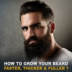 Our all-natural Beard Growth Grooming Kit is perfect for growing a new beard. Includes organic cooling beard shampoo, beard conditioner, growth oil and balm. Great Beards, Awesome Beards, Bart Tattoo, Best Beard Balm, Best Beard Growth, Beard Wax, Beard Tips, Beard Ideas
